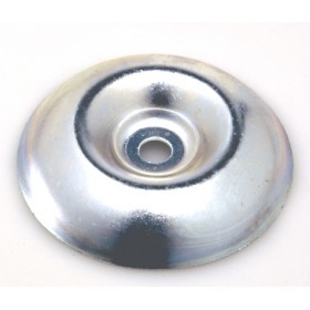 GALVANIZED CUP FOR BRUSHCUTTER WITH HOLE MM. 8