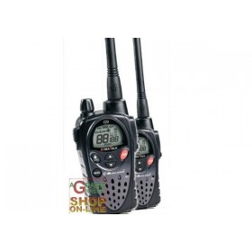 PAIR 2 MIDLAND DUAL-BAND TRANSCEIVER PMR446 / LPD G9 BLACK USED