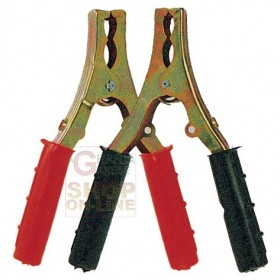 Pair of clamps pliers for car truck caravan cables 90 AMP. 150mm.