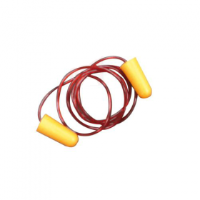 PAIR OF EAR PLUGS WITH CORD