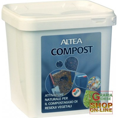 ALTEA COMPOST NATURAL ACTIVATOR FOR THE COMPOSTING OF VEGETABLE
