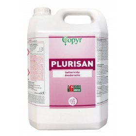 COPYR PLURISAN DEODORANT BACTERICIDE FOR ENVIRONMENTAL USE LT. 5