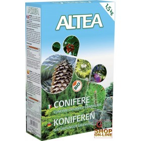 ALTEA CONIFER ORGANIC FERTILIZER GRANULAR SLOW RELEASE Kg 1,5
