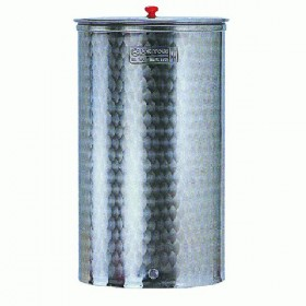 CORDIVARI STAINLESS STEEL CONTAINER 18/10 AISI 316 FOR FOOD LT.