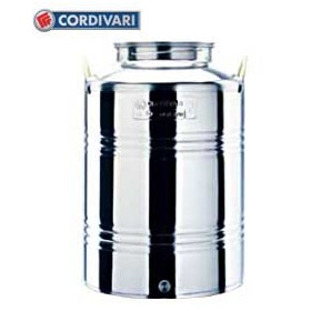CORDIVARI STAINLESS STEEL CONTAINER LT. 75 PREPARED FOR THE TAP
