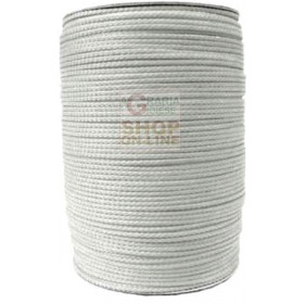 POLYPROPYLENE CABLE MM. 3 WHITE ADAPTABLE AS FISHING EQUIPMENT