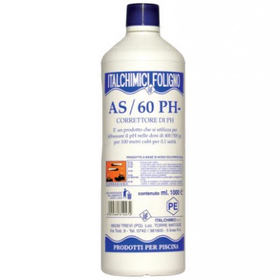 PH- CORRECTOR FOR SWIMMING POOLS MOD.AS/60 LT.1
