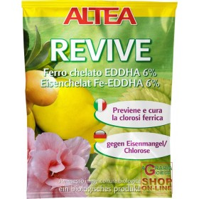 ALTEA IRON CHELATE REVIVE IRON CHELATE 6% (OF WHICH 4.8% or
