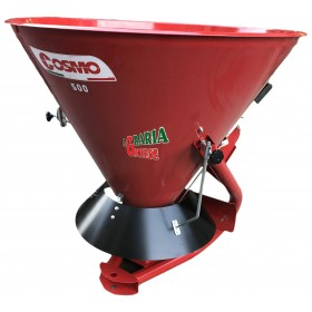 COSMO FERTILIZER SPREADER COMPLETE WITH GRID LIMITER AND