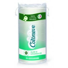 COTONEVE 60 MAXI OVAL REMOVAL DISCS 100% ORGANIC COTTON WITH