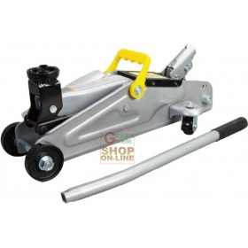 TWO TONS HYDRAULIC TROLLEY RATCHET WITH TONS CASE. 2 442MM