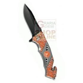 CROSSNAR FOLDING KNIFE BLOCKING BLADE CM. 8