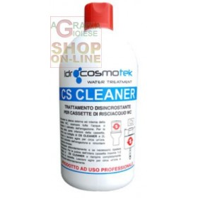 CS CLEANER DESCALING TREATMENT FOR WC CASSETTE LT. 1