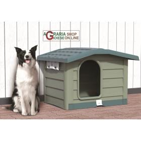 Cuccia per cani di large taglia Bama Bungalow verde dimensioni