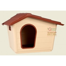KENNEL FOR DOGS IN POLYPROPYLENE SPRINT MEDIA CM. 79 X 59 X 61 H.