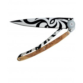 DEEJO WOOD 37G JUNIPER TRIBAL COLTELLO CHIUDIBILE CM. 20,5