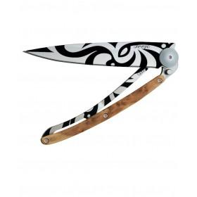 DEEJO WOOD 37G JUNIPER TRIBAL FOLDING KNIFE CM. 20.5