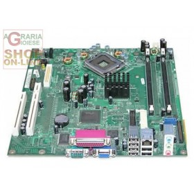 DELL OPTIPLEX GX520 DESKTOP SOCKET 775 SCHEDA MADRE 0X7841 X7841