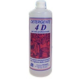 DETERGENTE 4D LIQUIDO FRANKE LT. 1