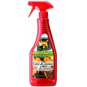 DETERGENTE TRIONFO SPRAY VETRI STUFE E CAMINI ML.500