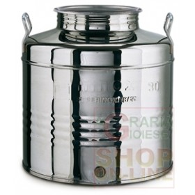 MINOX STAINLESS STEEL CONTAINER LT. 30 LOW