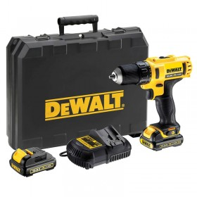 DEWALT DCD710C2 DRILL DRIVER WITH LITHIUM BATTERY 10,8V 1,3AH