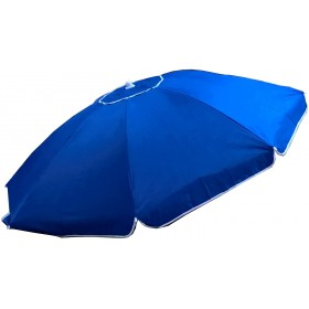 BEACH UMBRELLA CAYMAN 200 BLUE IN WINDPROOF ALUMINUM