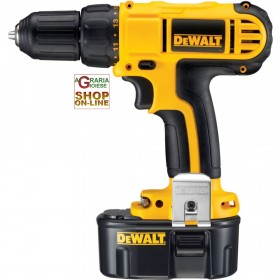 DEWALT BATTERY DRILL 14.4V DC733C2 WITH 2 BATTERIES