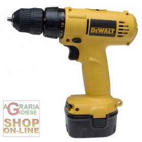 DEWALT DRILL WITH 2 BATTERIES12V DW907K2