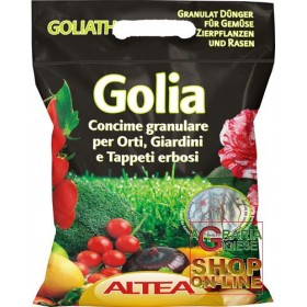 ALTEA GOLIA GRADUAL RELEASE NOURISHMENT FOR ORNAMENTAL PLANTS VEGETABLES FRUIT AND GRASS CARPETS 5 Kg