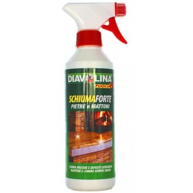 DIAVOLINA STRONG FOAM STONES AND BRICKS FIREPLACE SPRAY 500 ML