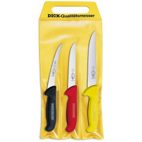 DICK BUTCHER KNIVES SET FOR BONING 3 PIECES PROFESSIONAL MADE