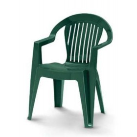 DIMAPLAST STACKABLE RESIN CHAIR VIOLETTA GREEN MODEL