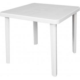 DIMAPLAST RESIN TABLE FIGARO GARDEN WHITE cm. 80x80x72h.