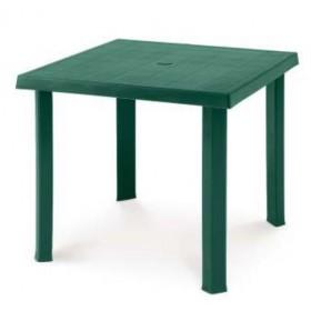DIMAPLAST RESIN TABLE FIGARO GARDEN GREEN cm. 80x80x72h.