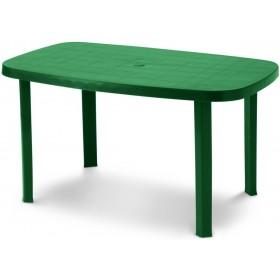 DIMAPLAST RESIN TABLE OTELLO GARDEN GREEN cm. 140x80x72h.