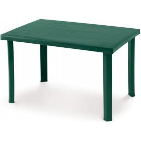 DIMIPLAST TABLE IN RESIN CALAF GARDEN GREEN cm. 120x80x72h.