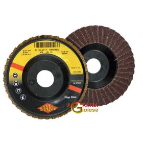 ABRASIVE DISC WITH LAMELS MM.115X22 GR. 60