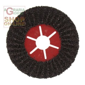 SEMIFLEXIBLE ABRASIVE DISC DIAMETER 115 GR. 24