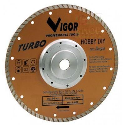 DISCO DIAMANTATO TURBO HOBBY-DIY ORO DIAMETRO MM. 230