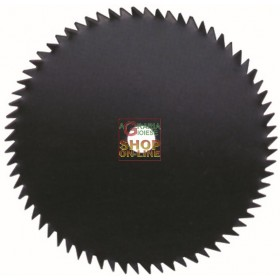 DISC FOR BRUSHCUTTER VIGOR 60 TEETH MM. 230