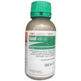 HERBICIDE SELECTIVE HERBICIDE DOWAGRO GOAL 480 SC ML. 500 Oxifluorfen