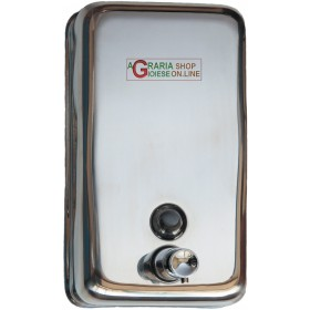 STAINLESS STEEL LIQUID SOAP DISPENSER ml. 750