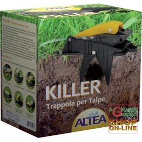 ALTEA KILLER MECHANICAL TRAP FOR MOLES AND ARVICULES