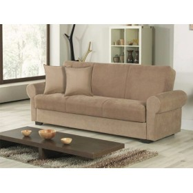 READY SOFA IN FABRIC FIRENZE 3STR CAPPUCCINO CM. 225x86x88h.