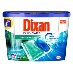 DIXAN DUO-CAPS EMERALD WATERFALL PCS. 16