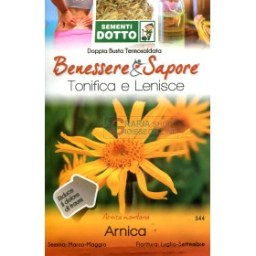 WITH ARNICA SEED ENVELOPES
