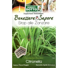 DOTTO BAGS SEEDS OF CITRONELLA