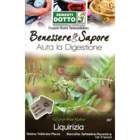 DUCT BAGS SEEDS OF LIQUORICE