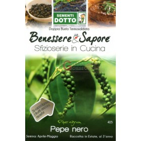 DOTTO BAGS SEEDS OF BLACK PEPPER
